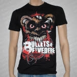 Bullets  Belvedere Bear Black T-Shirt