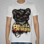 Bullets  Belvedere Bear White T-Shirt