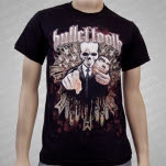 Bullet Tooth Mask Black T-Shirt