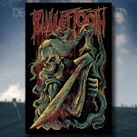 official Bullet Tooth Samurai Poster