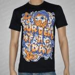 Burden of a Day Genie Black T-Shirt