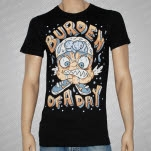 official Burden of a Day Monster Black T-Shirt