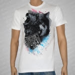 Burden of a Day New Wolves White T-Shirt