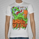 Burden of a Day One Eyed Monster White T-Shirt
