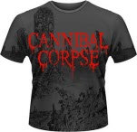 Cannibal Corpse A Skeletal Domain All Over Print T-Shirt Mega Print