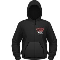 Cannibal Corpse Butchered At Birth Hoodie With Zip