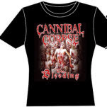 Cannibal Corpse The Bleeding Girlie T-Shirt