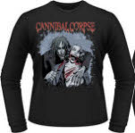 Cannibal Corpse Cauldron Of Hate Long Sleeve T-Shirt