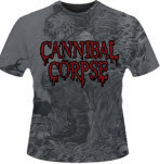 Cannibal Corpse Evisceration All Over Print T-Shirt Mega Print