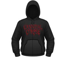 Cannibal Corpse Global Evisceration Hooded Sweat With Zip