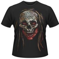 Cannibal Corpse Skull T-Shirt