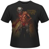 Cannibal Corpse Skull Butcher T-Shirt