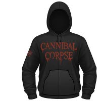 Cannibal Corpse Caged Contorted Hoodie With Zip