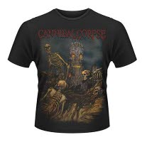 Cannibal Corpse A Skeletal Domain 4 T-Shirt Front And Back Print
