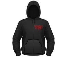 Cannibal Corpse A Skeletal Domain Hooded Sweat With Zip