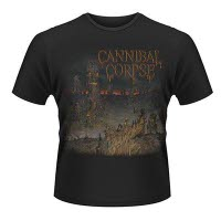 Cannibal Corpse A Skeletal Domain 1 T-Shirt Front And Back Print