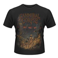 Cannibal Corpse A Skeletal Domain 2 T-Shirt Front And Back Print