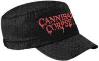 Cannibal Corpse Logo Army Cap Army Cap