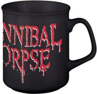 Cannibal Corpse Logo Black Coffee Mug