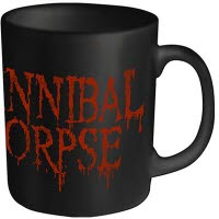 Cannibal Corpse Dripping Logo Coffee Mug