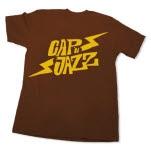 Capn Jazz Bolt Brown T-Shirt