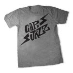 Capn Jazz Bolt Heather Gray T-Shirt