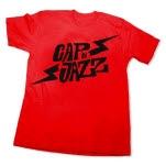 Capn Jazz Bolt Red T-Shirt