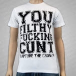 Capture The Crown Filthy White T-Shirt