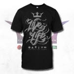 Capture The Crown Live Life Black T-Shirt