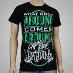 Capture The Crown What Goes Around Black T-Shirt