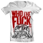 Capture The Crown Who The Fuck Is CTC White T-Shirt