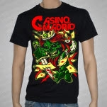 Casino Madrid Crown Black T-Shirt