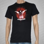 Catherine Angel Arms Black T-Shirt