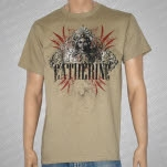 Catherine HeadDress Girl Khaki T-Shirt