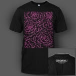 CEREMONY Roses Black T-Shirt