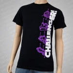 CHALLENGER Robot Parts Black T-Shirt