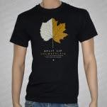 Chamberlain Autumn Leaf Black T-Shirt