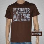 Chamberlain City Streets Brown T-Shirt
