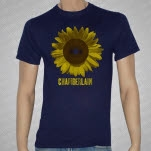 Chamberlain Sunflower Navy T-Shirt