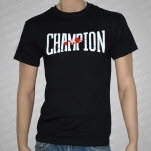 Champion Blood Splatter Logo T-Shirt