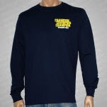 official Champion Drug Free Navy Long Sleeve Shirt