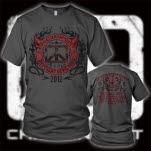 Chickenfoot Different Devil Tour Charcoal T-Shirt