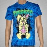 Chiodos Bunny Guts Tie Dye Blue T-Shirt