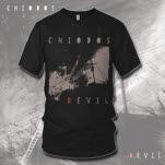 Chiodos Devil Album Art Black T-Shirt