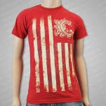 Chiodos Flag Red T-Shirt