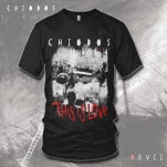 official Chiodos inchThis is Loveinch BAND Black T-Shirt