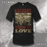 Chiodos inchThis is Loveinch CRAIG Black T-Shirt