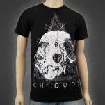 Chiodos Triangle Skull Black T-Shirt