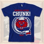 Chunk No    Captain Chunk Bear Blue T-Shirt