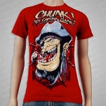Chunk No    Captain Chunk Pirate Red T-Shirt